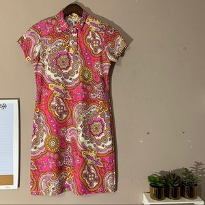 Jude Connally Emily Polo Dress Womens Pink Parsley